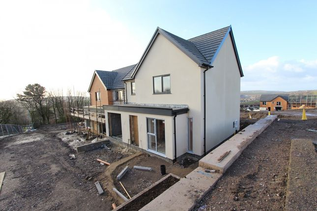 Thumbnail Detached house for sale in The Former Hillside Club, Tonyrefail -, Porth