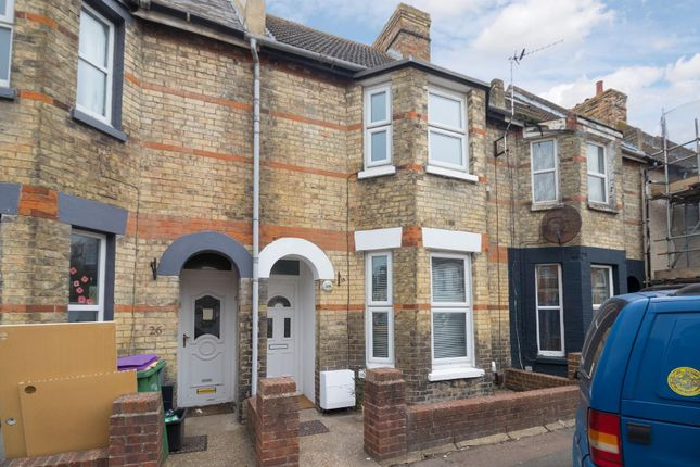 Thumbnail Terraced house to rent in Thanet Gardens, Folkestone