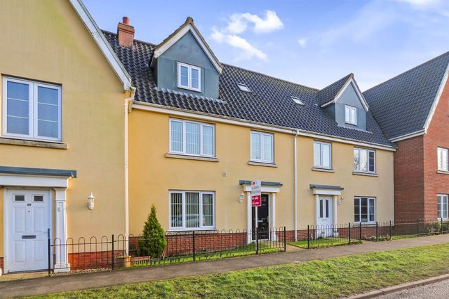 Thumbnail Terraced house for sale in The Butts, Kenninghall, Norwich