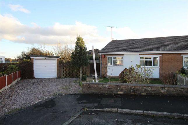 Thumbnail Semi-detached bungalow for sale in Avon Court, Mold, Flintshire