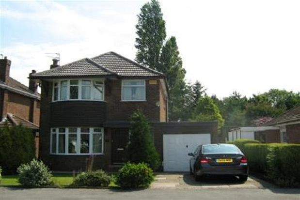 Thumbnail Property to rent in Silverdale Road, Gatley, Cheadle