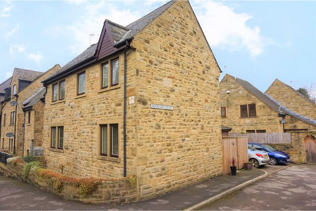 Thumbnail Town house for sale in Moorside Court, Ilkley