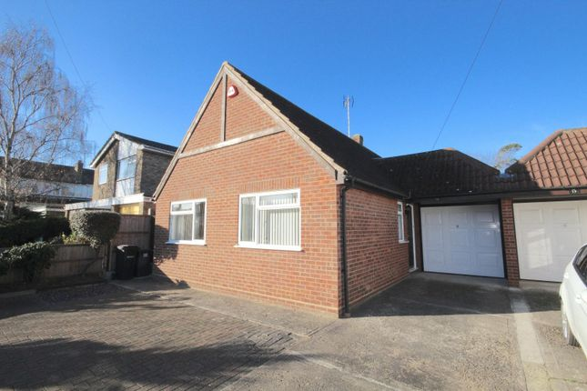 Thumbnail Detached bungalow for sale in Lubbards Close, Rayleigh
