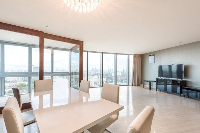 Thumbnail Flat to rent in The Tower, St. George Wharf, Vauxhall