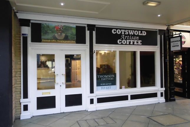 Thumbnail Retail premises to let in Bishops Walk, Cirencester