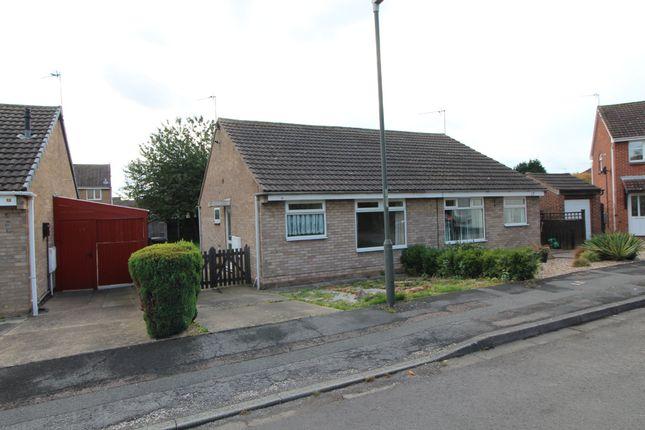 Thumbnail 2 bed semi-detached bungalow to rent in Stourdale Close, Long Eaton, Nottingham