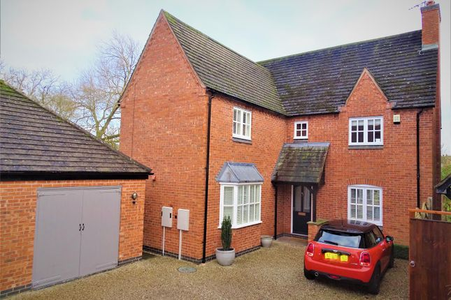Thumbnail Detached house for sale in Forge End, Rothley, Leicester