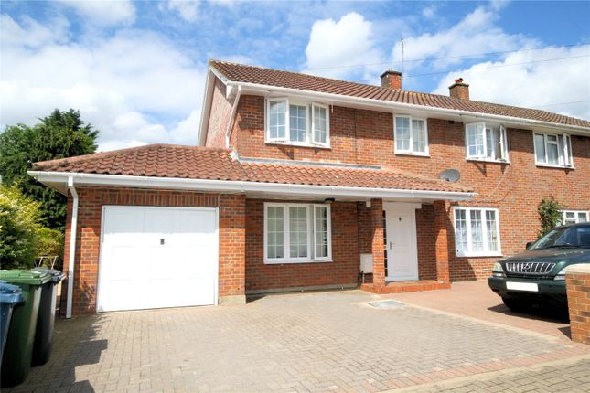 Thumbnail Semi-detached house for sale in Honister Gardens, Stanmore