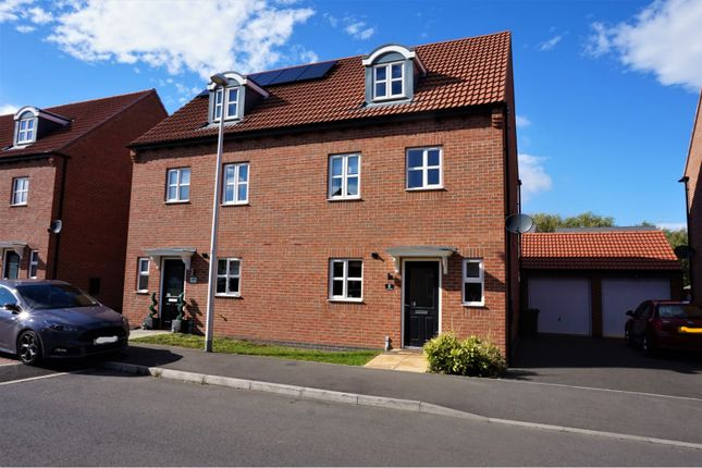 Thumbnail Semi-detached house for sale in Oyster Way, Warsop
