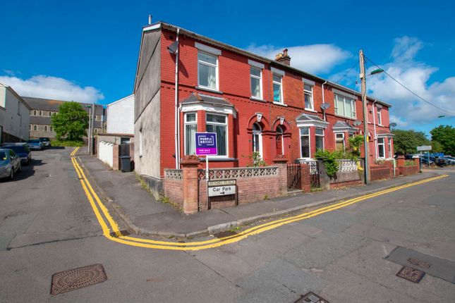 Thumbnail End terrace house for sale in Aynho Place, Ebbw Vale