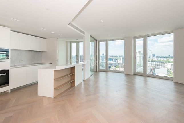 Thumbnail Flat to rent in Upper Ground, Southbank