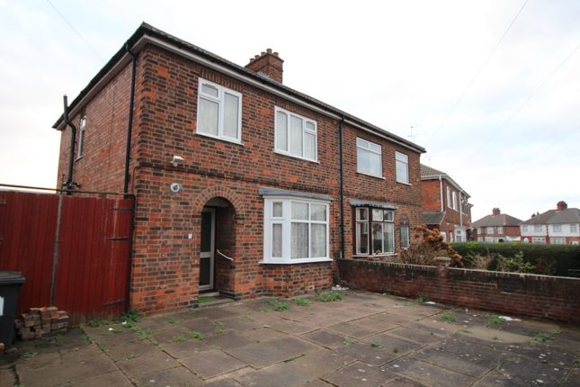 Front of Crown Hills Avenue, Leicester LE5