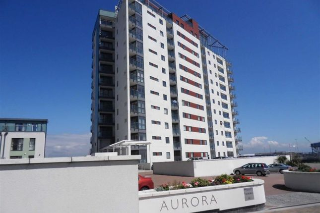 Thumbnail Flat for sale in Aurora, Trawler Road, Swansea