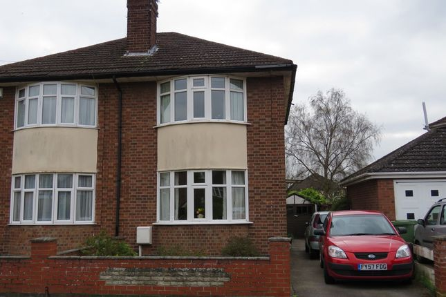 Thumbnail Semi-detached house to rent in Meynell Avenue, Lincoln