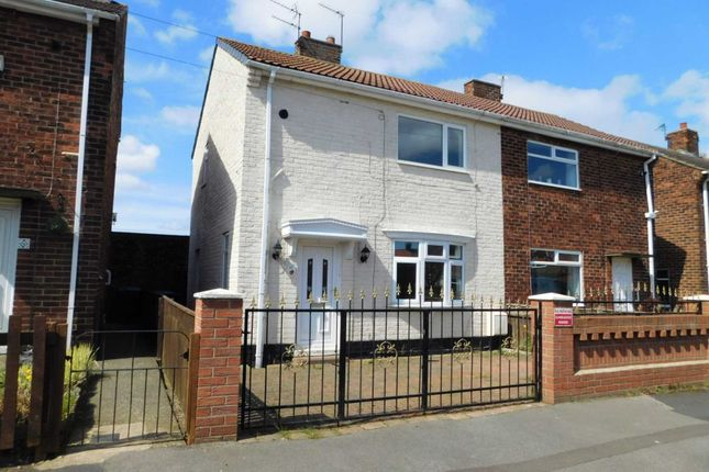 Thumbnail Semi-detached house to rent in Johnson Estate, Wheatley Hill, Durham