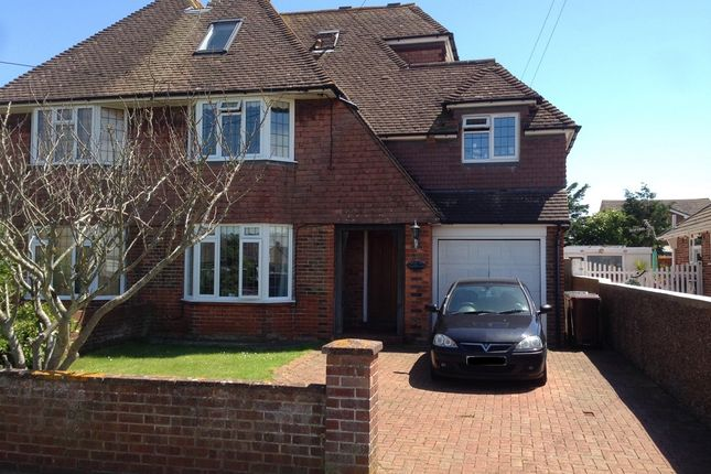 Thumbnail Semi-detached house for sale in Castleross Road, Pevensey Bay