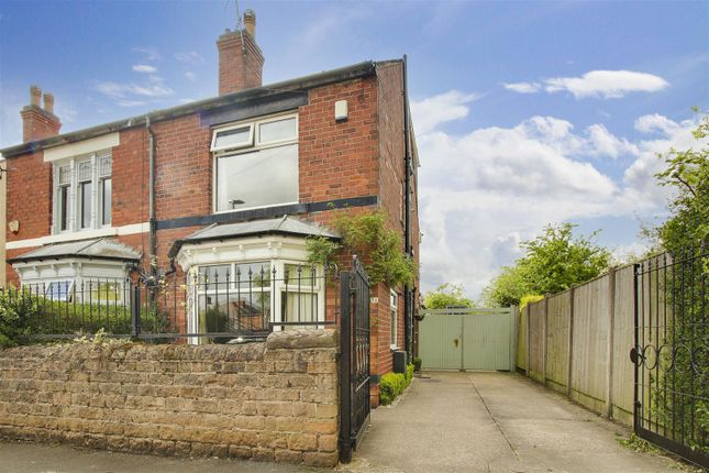 5 bed semi-detached house for sale in Garden Road, Hucknall, Nottinghamshire NG15