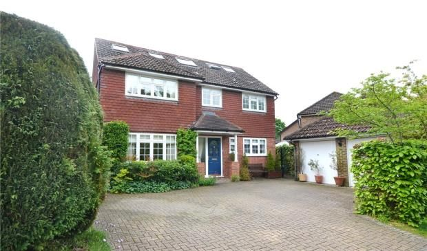 Thumbnail Detached house for sale in Polkerris Way, Church Crookham, Fleet