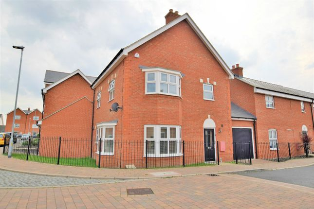 Thumbnail Detached house for sale in Lenz Close, Colchester