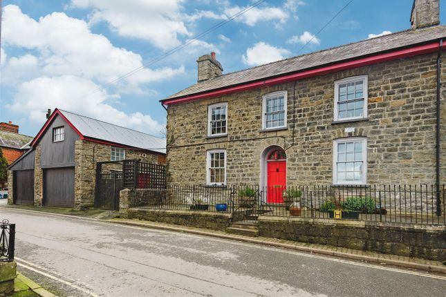 Thumbnail End terrace house for sale in Market Street, Builth Wells