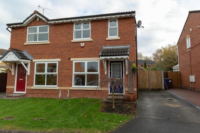 Thumbnail Semi-detached house to rent in Hedgerows Road, Leyland