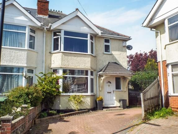 Thumbnail Semi-detached house for sale in Claremont Crescent, Southampton