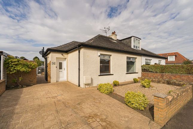 Thumbnail 3 bed semi-detached bungalow for sale in 8 Broompark Road, Edinburgh