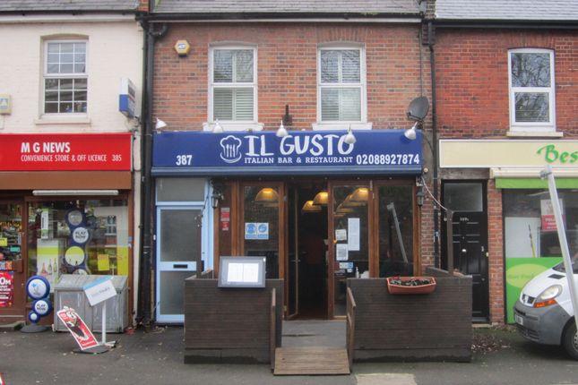 Thumbnail Retail premises for sale in 387 St Margarets Road, St Margarets