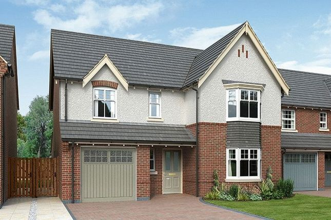 Thumbnail Detached house for sale in The Tenby, Hilltop View, Burton On Trent