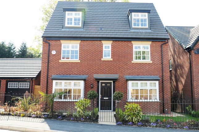 "Thumbnail Detached house for sale in ""Burton"" at Lightfoot Green Lane, Lightfoot Green, Preston"
