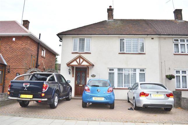 Thumbnail Semi-detached house to rent in Gooshays Drive, Romford