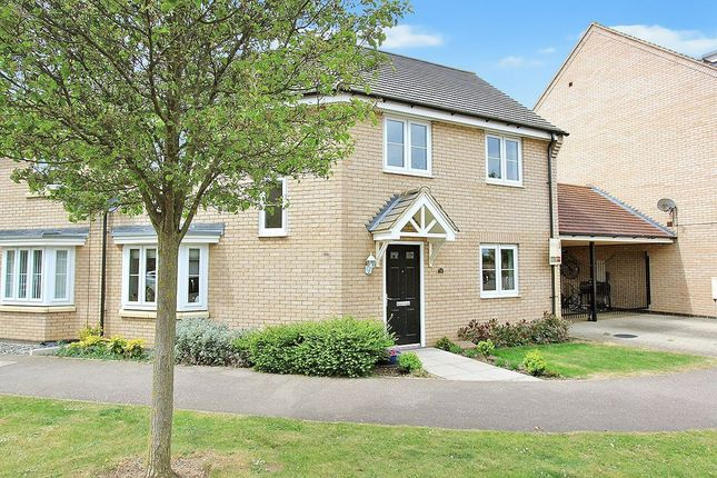 Thumbnail Semi-detached house for sale in Bourneys Manor Close, Willingham, Cambridge