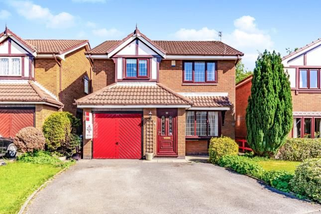 Thumbnail Detached house for sale in Tytherington Drive, Reddish, Stockport, Cheshire