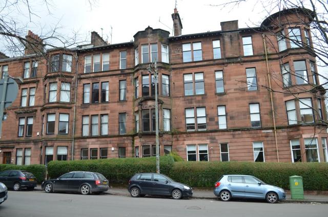 Thumbnail Flat to rent in 0/2, 57 Queensborough Gardens, Hyndland, Glasgow, 9Tt