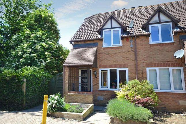 2 bed end terrace house for sale in Hunsdon Close, Stantonbury Fields, Milton Keynes, Buckinghamshire MK14