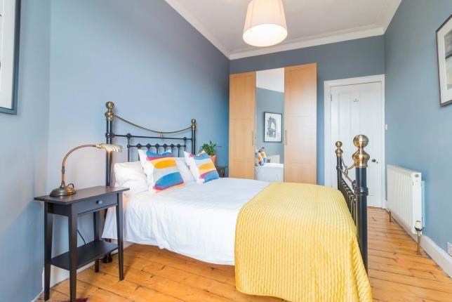 Bedroom of Buccleuch Street, Garnethill, Glasgow G3