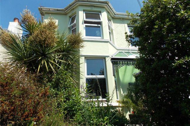 Thumbnail Semi-detached house for sale in New Road, Liskeard