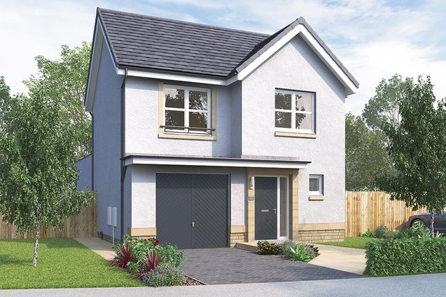 "Thumbnail Detached house for sale in ""The Newton"" at Mauricewood Road, Penicuik"