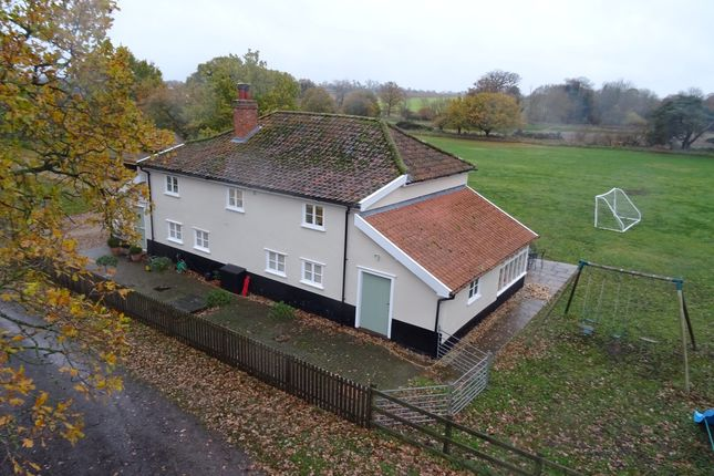 Thumbnail Detached house for sale in Mill Lane, Hopton, Diss