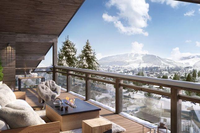 Views of Megeve, Rhones Alps, France