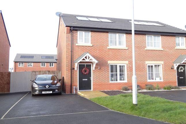 3 bed semi-detached house for sale in Oxbridge Road, Cottam, Preston