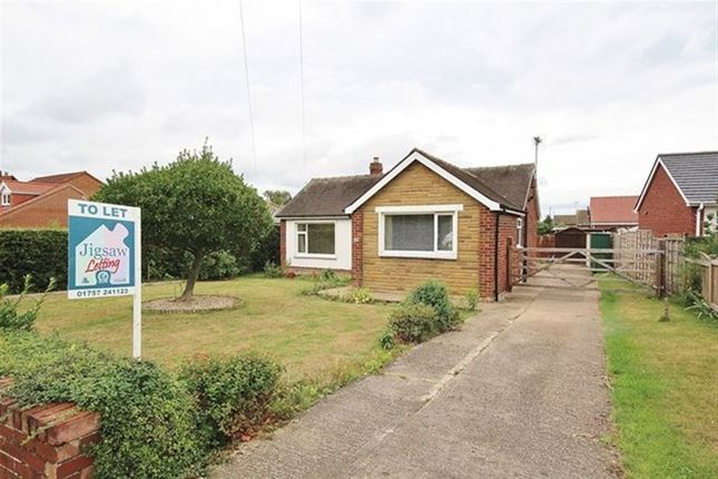 Thumbnail Bungalow to rent in Fox Lane, Thorpe Willoughby, Selby