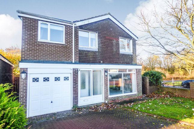 Thumbnail Detached house for sale in Morval Close, Sunderland