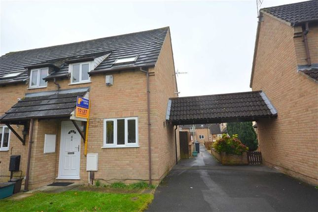 Thumbnail End terrace house to rent in Apperley Drive, Quedgeley, Gloucester