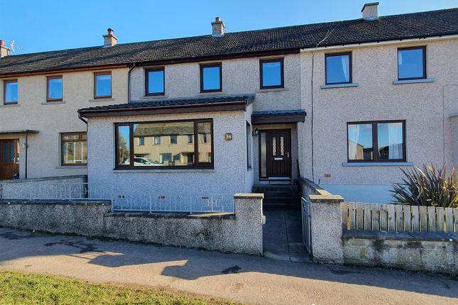 Thumbnail Terraced house for sale in Fraser Avenue, Elgin
