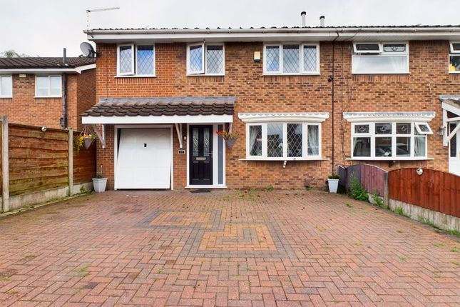Thumbnail Semi-detached house for sale in Tulip Close, Sale, Trafford