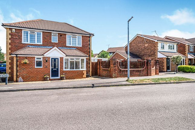 Thumbnail Detached house for sale in Durham Close, Flitwick, Bedford