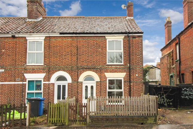 Thumbnail End terrace house for sale in Magpie Road, Norwich