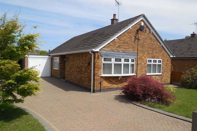 Thumbnail Detached bungalow for sale in Meadow Drive, Burbage, Hinckley