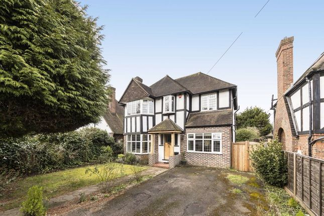 Thumbnail Detached house for sale in Manor Road South, Hinchley Wood, Esher